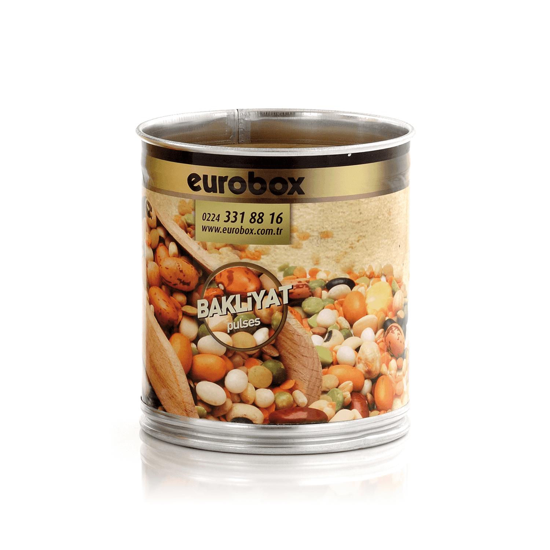 Eurobox Bakliyat ve Baharat Bidonu 15-20kg.  35x30 cm
