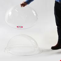 Eurobox Şeffaf Plexi Döner Kapak, Kraft Orta Havuz İçin 50 cm