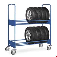 Tekerlekli Lastik Teşhir Standı 400 kg.