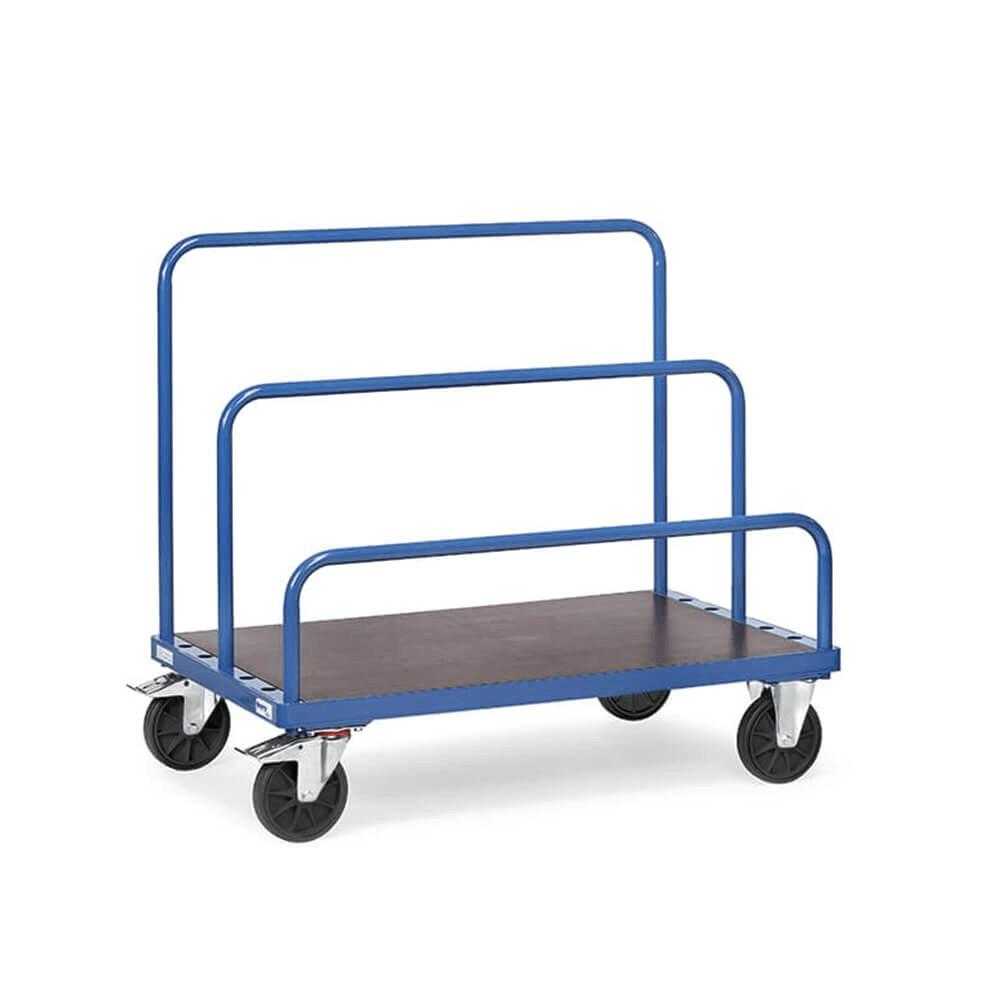 Ayarlanabilir Ahşap Panel Taşıyıcı 80x80x160 cm Mavi