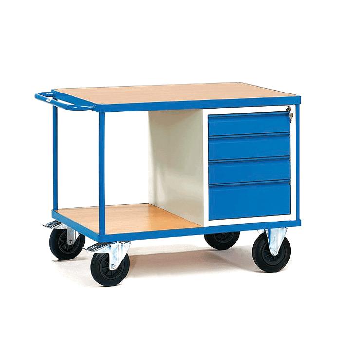 Ürün Taşıma Arabası Tip 08 450 kg. Mavi