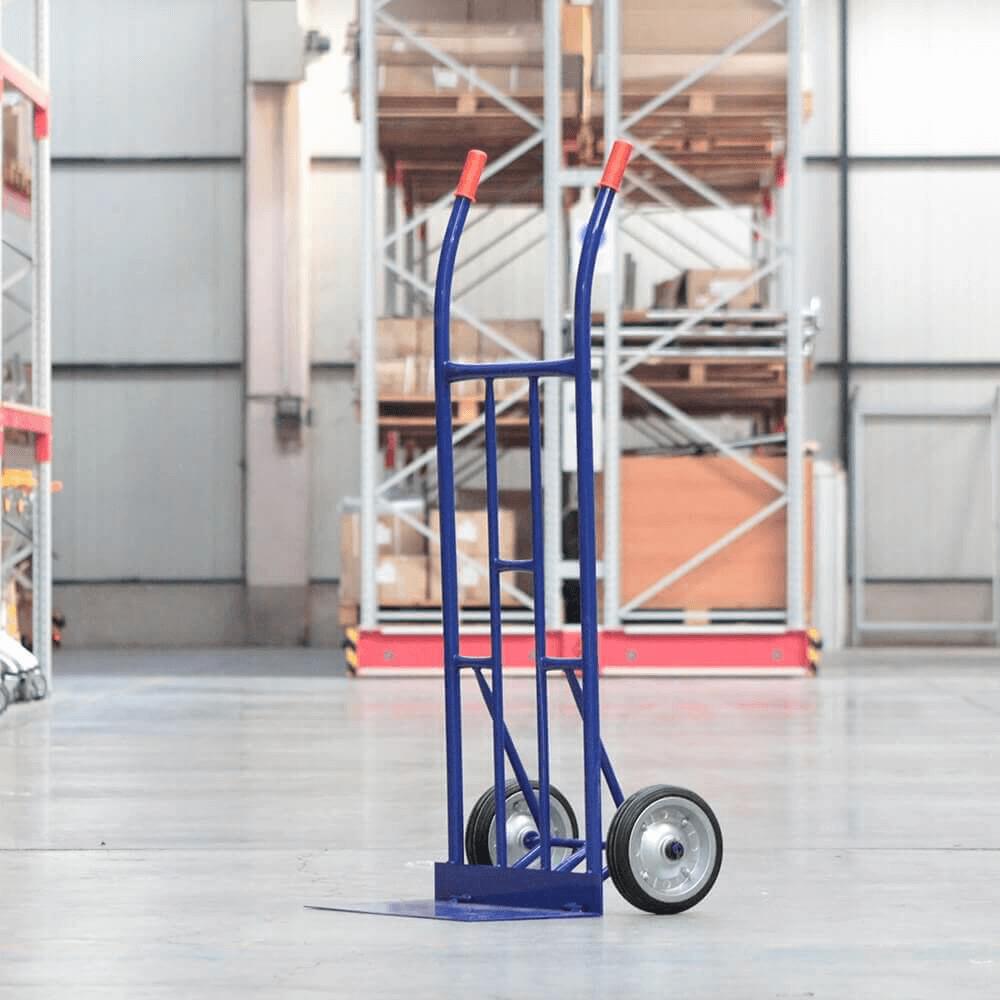 Büyük Boy Koli Taşıma El Arabası T1 300 kg. Mavi