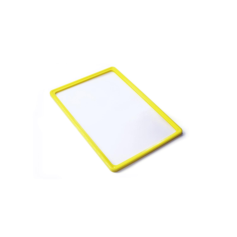 Eurobox Plastik Çerçeve A6 10'lu Paket Sarı