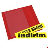 İndirim Bilgi Panosu Çift Taraflı 46x50 cm Kırmızı