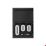 Resimli Manav Etiketi Mini 16x24 cm Çift Taraflı Siyah