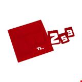 Yazılı Manav Etiketi Mini Tek Taraflı 11x13,5 cm Kırmızı