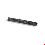 Vitrin Etiketi Kabartma Altın 0,9 cm 10'lu Paket