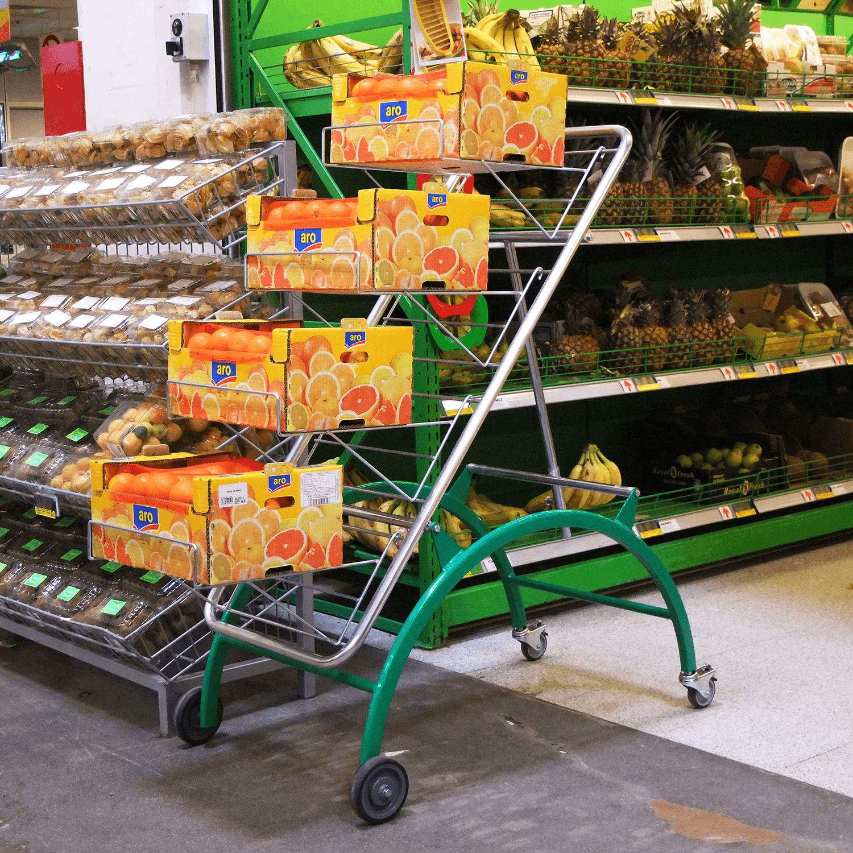 Easy Tekerlekli Meyve Sebze Standı