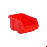 Plastik Avadanlık Tip 1 7,2x16,3x10 cm Kırmızı