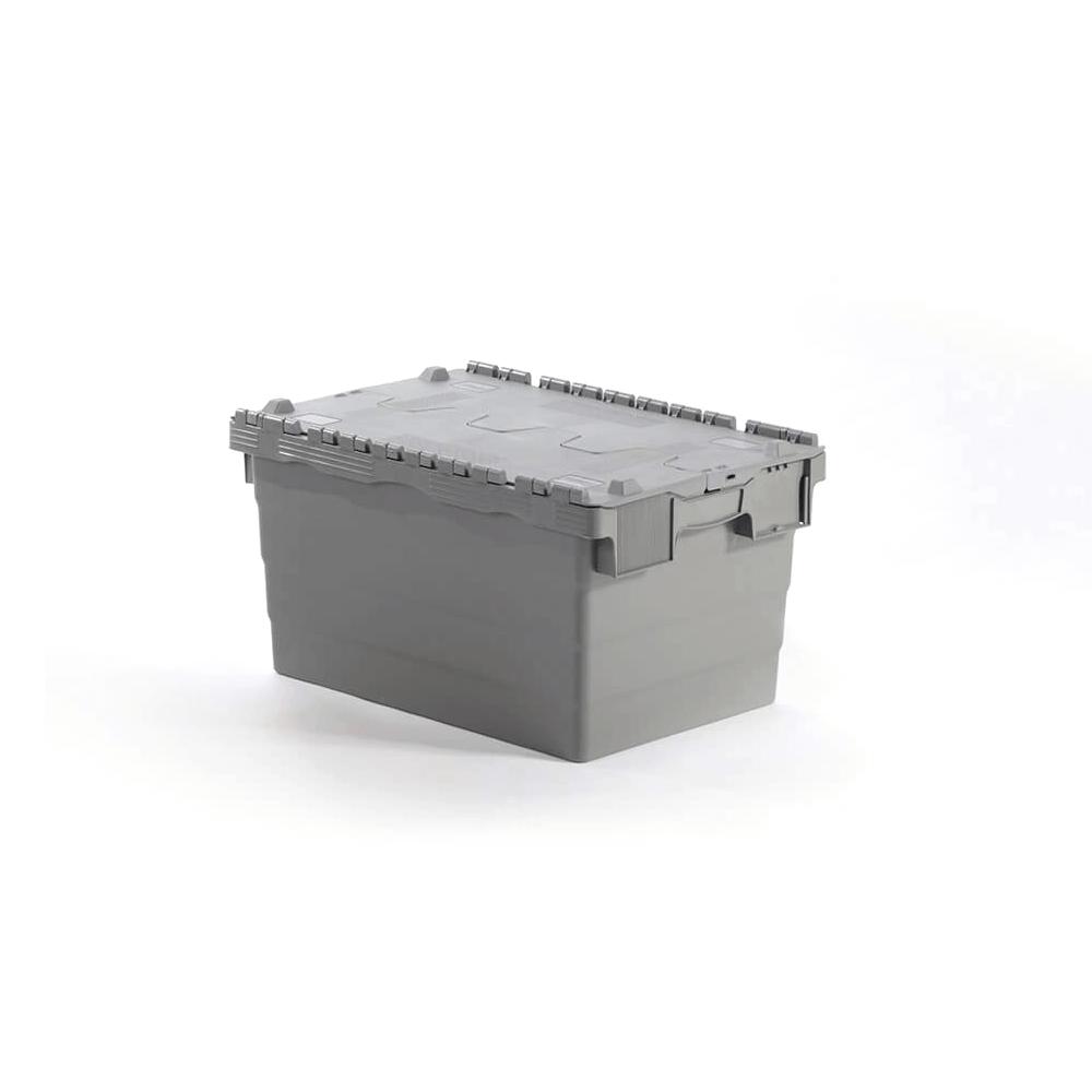 Kapaklı Plastik Kasa 32x40x60 cm Gri