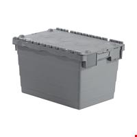 Kapaklı Plastik Kasa 36,5x40x60 cm Gri