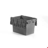 Kapaklı Plastik Kasa 41,6x40x60 cm Gri