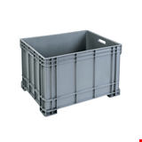 Plastik Konteyner 61x81 cm - 200 Kg. Gri