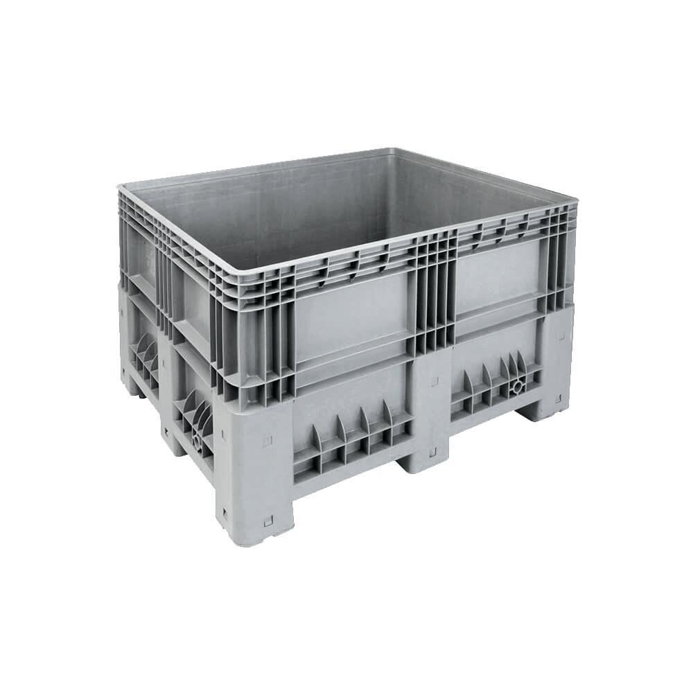Plastik Konteyner 100x120 cm - 420 Kg. Gri