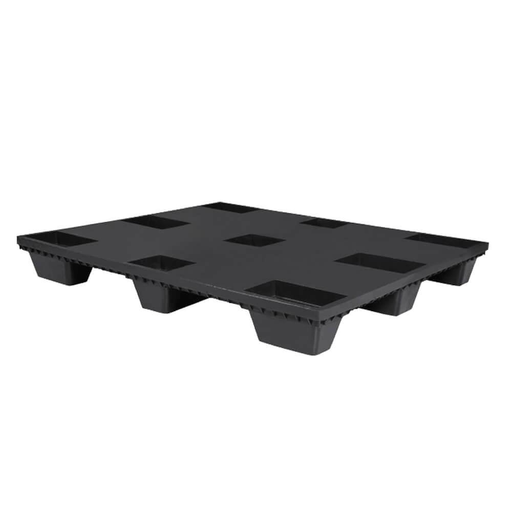 İhracat Paleti Düz 13.5x100x120 cm Siyah