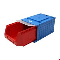 Plastik Kapaklı Avadanlık 18,3x35x22 cm Mavi