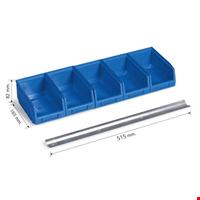 Askılı Avadanlık Duvar Seti Tip 4 8,2x16,5x51,5 cm Mavi
