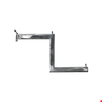 Oval Kademeli Askı Tutucu KPG (Kanallı Panoya Geçen) 40 cm