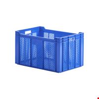 Plastik Sebze Meyve Kasası 35x40x60cm Mavi