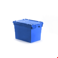 Kapaklı Plastik Kasa 41.6x40x60 cm Mavi