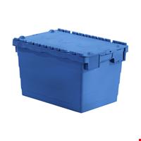Kapaklı Plastik Kasa 36,5x40x60 cm Mavi