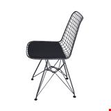 Tel Sandalye, Metal Tel Sandalye, Antrasit