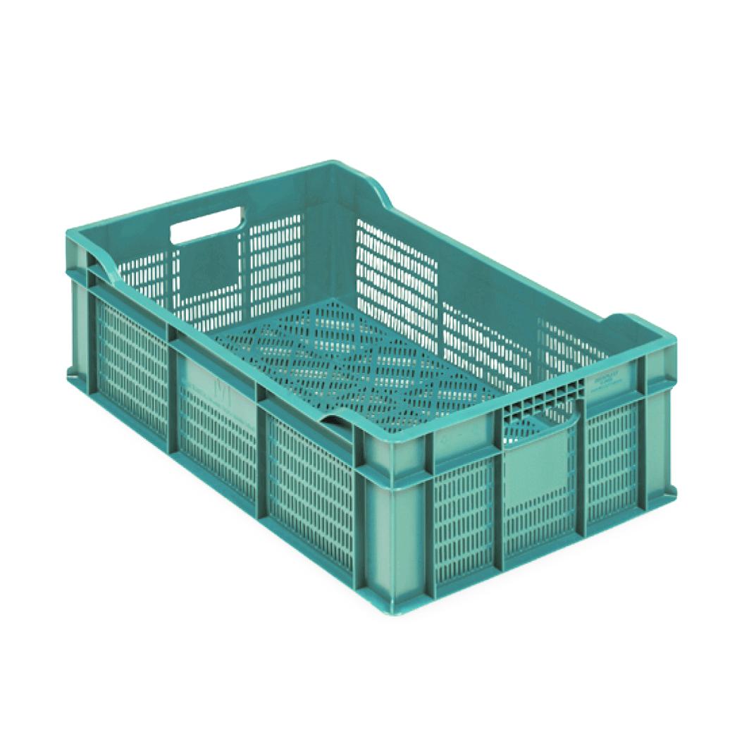 Plastik Teşhir Kasası, 14x40x60 cm. Açık Yeşil