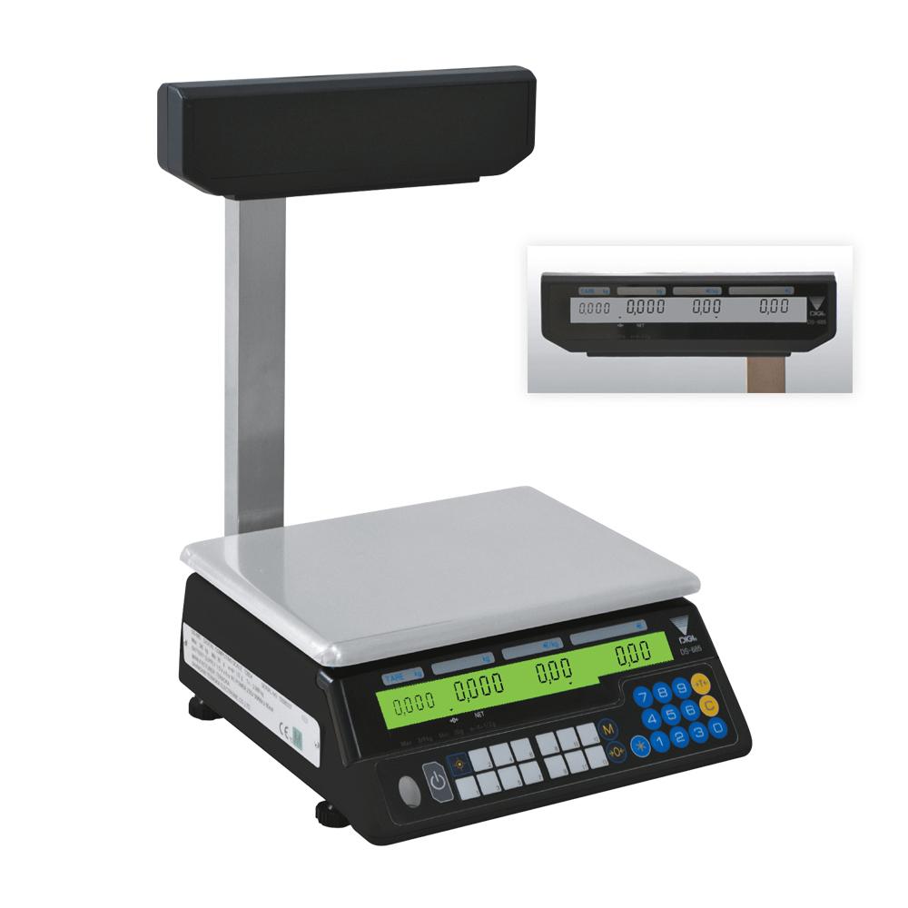 Digi DS-685 P 15 Kg Elektronik Terazi