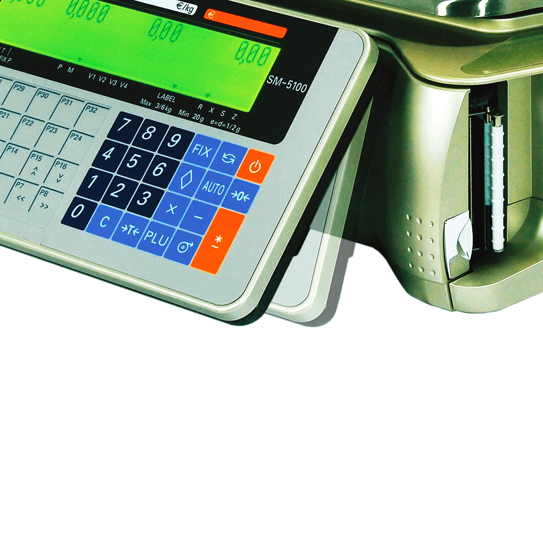 DigiSM-5100 B 30 Kg Elektronik Barkodlu Terazi