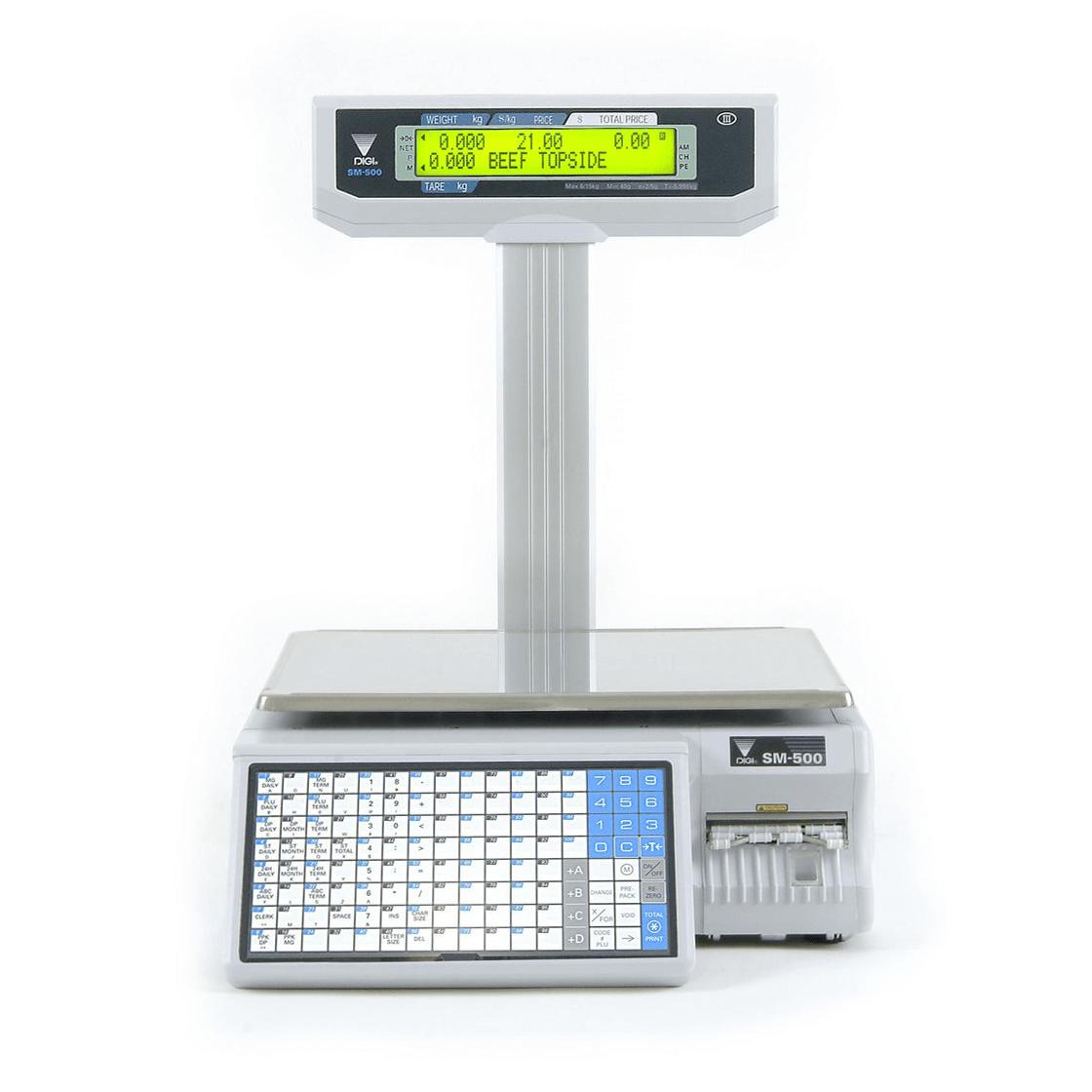 Digi SM-500 M EP 15 Kg Elektronik Barkodlu Terazi
