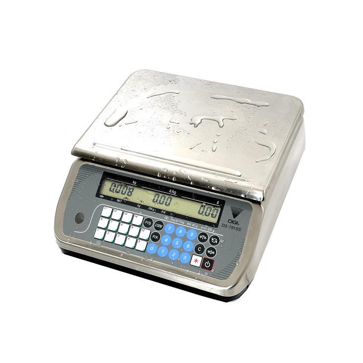 Digi DS-781 SS (Paslanmaz Çelik) 15 Kg Elektronik Terazi