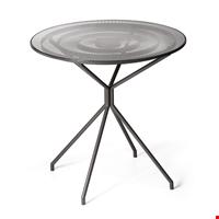 Metal Masa, Bistro, Cafe, ve Ofis Masası, Yuvarlak Metal Masa Camı